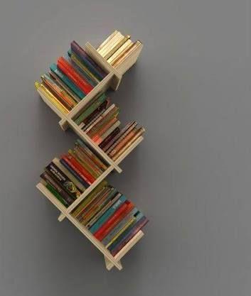 Billedresultat for libreros modernos para habitaciones for Muebles para libros modernos