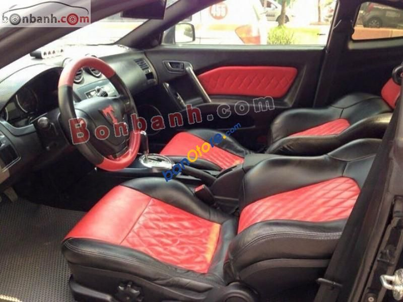 Hyundai Tiburon Tuscani Red And Black Interior Diamond Stitch Auto Addiction Interiors