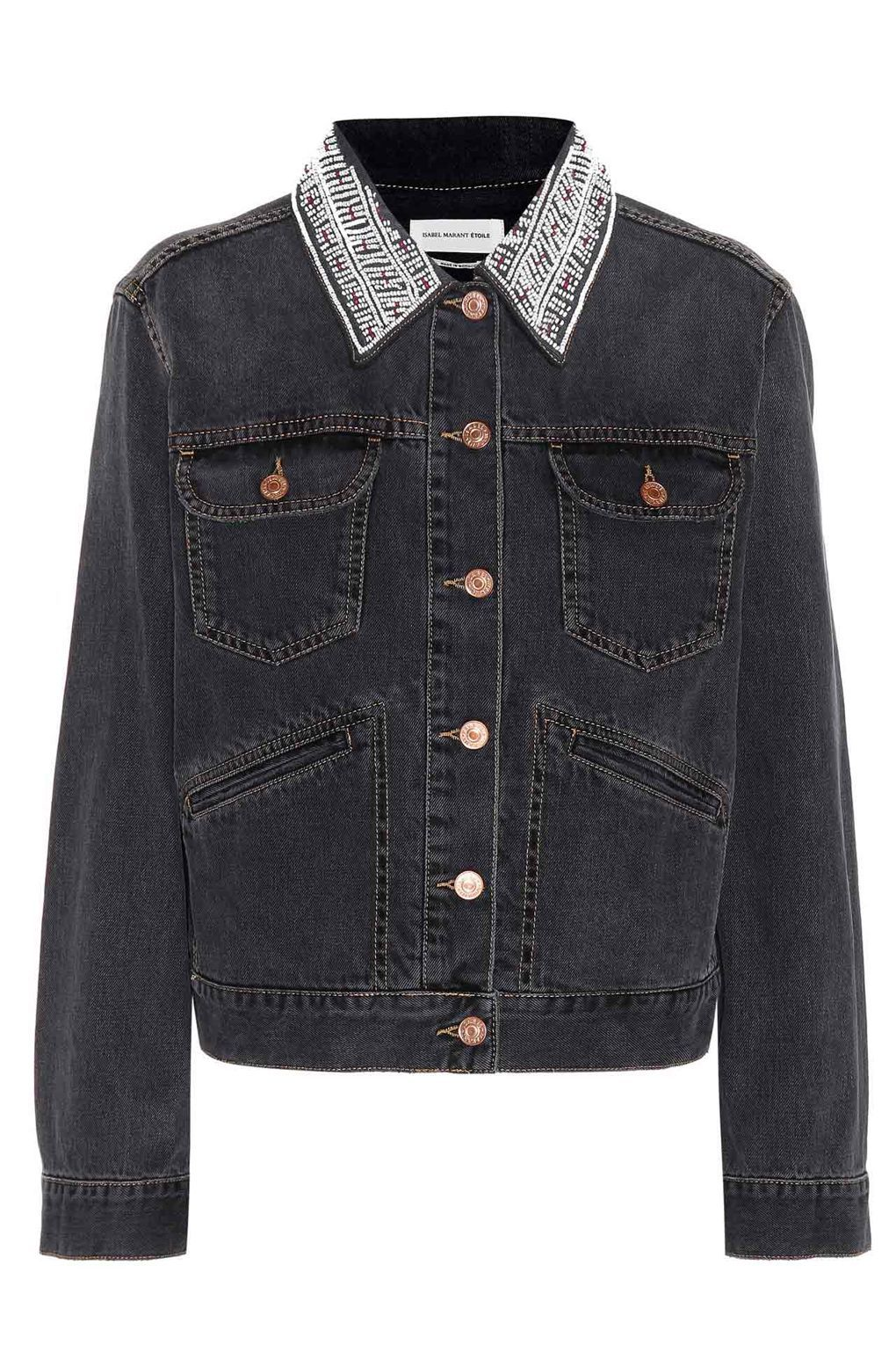 4a7a1db379 Embellished Denim Jackets - Isabel Marant Etoile