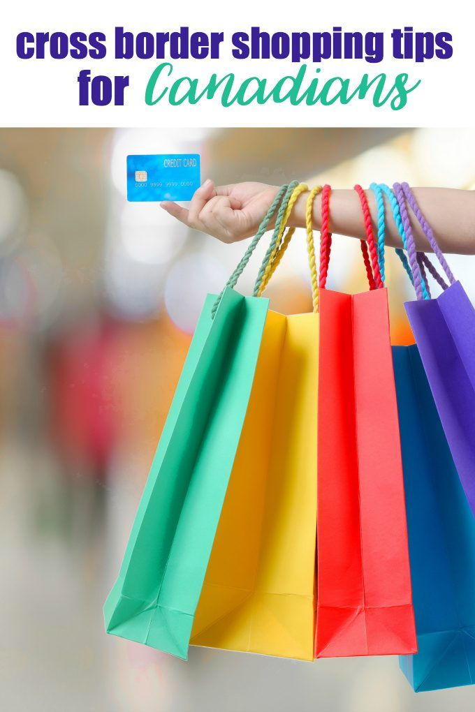 Cross Border Shopping Tips for Canadians - Planning a shopping trip to the USA? Read these tips first!