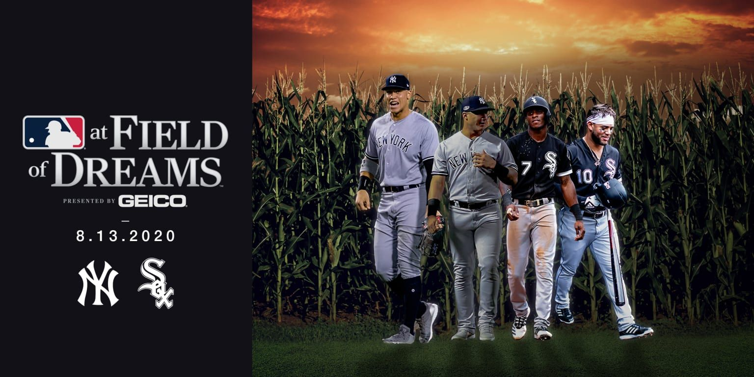 They Re Building It Field Of Dreams Will Become A Big League Reality On Aug 13 2020 When The Beloved 1 Field Of Dreams New York Yankees Chicago White Sox