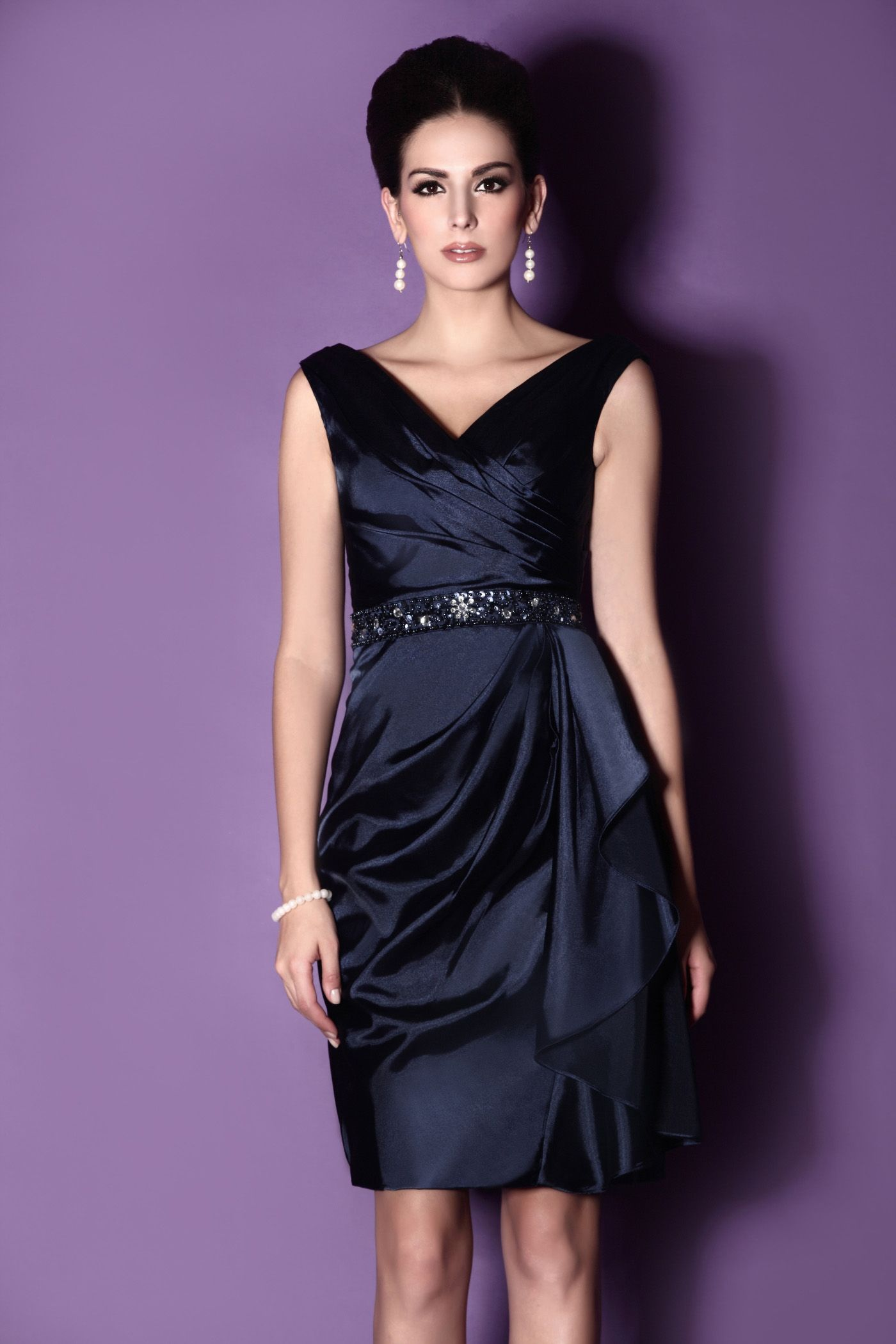 Miedoso Vestidos De Dama Factura Levkoff Ideas Ornamento Elaboración ...