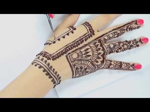 Henna Mehndi S : New modern style henna mehndi design for beginners easy
