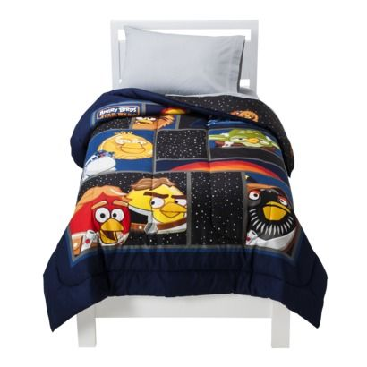Star Wars Angry Birds Comforter Black, Angry Birds Star Wars Full Size Bedding