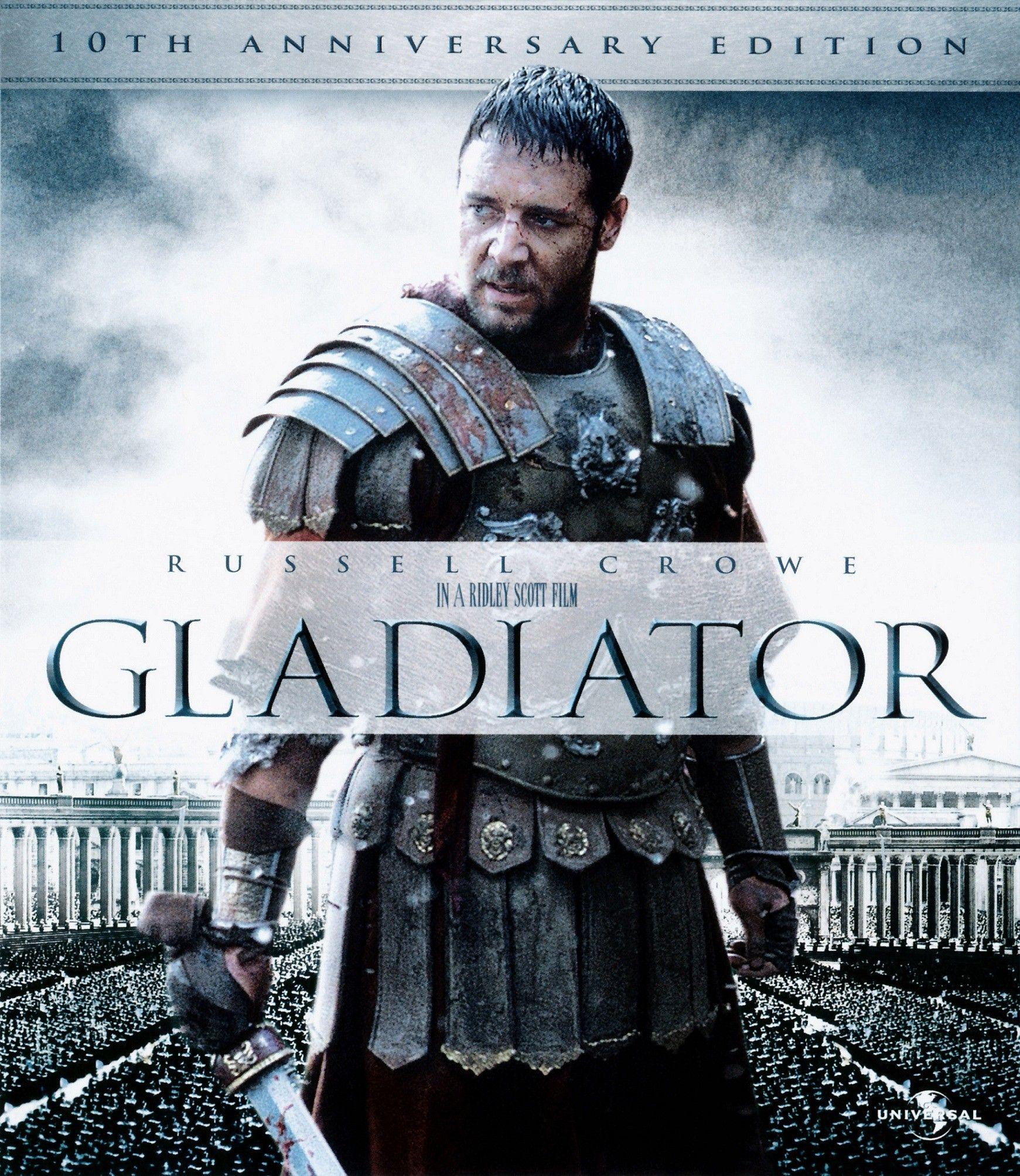 Gladiator (2000) ORIGINAL Extended DD5.1 CH 640Kbps AC3 Hindi Audio 783MB