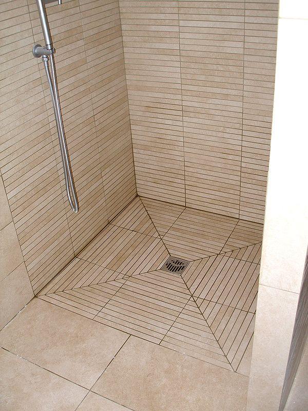Risultati immagini per piatto doccia filo pavimento piastrellabile interiors pinterest - Piatto doccia pavimento ...
