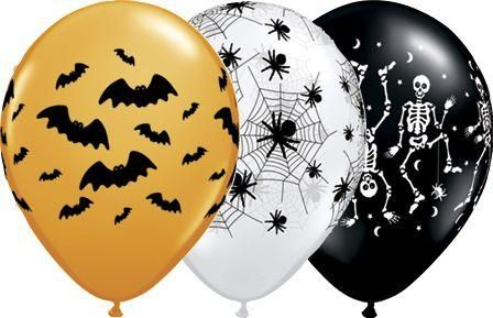 Assorted Halloween Balloons Kid Halloween Party Adult Halloween
