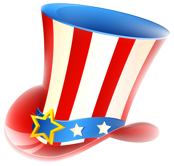 Patriotic Uncle Sam Hat Png Clipart Manualidades