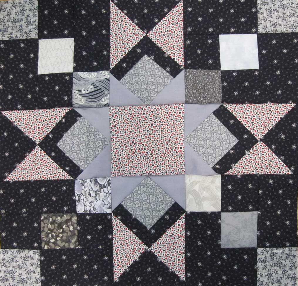 Granny's Star block | by nancy mahoney