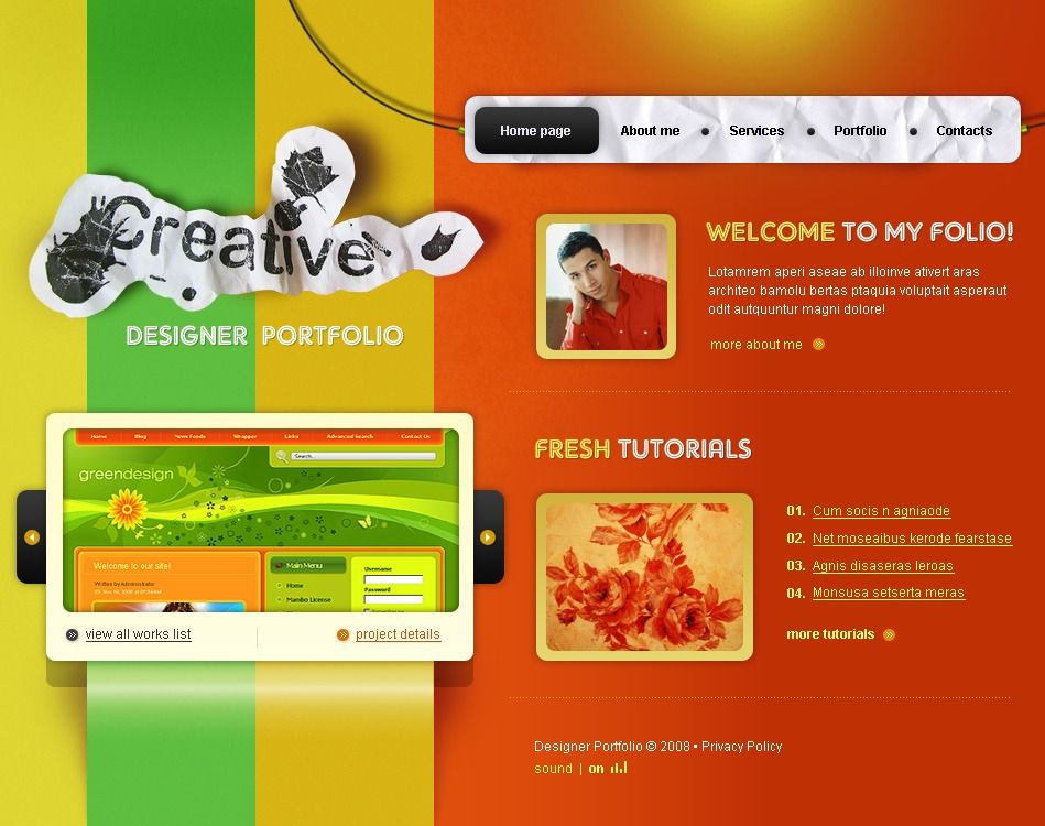 cool 29 Nice Website Design Templates | Website design
