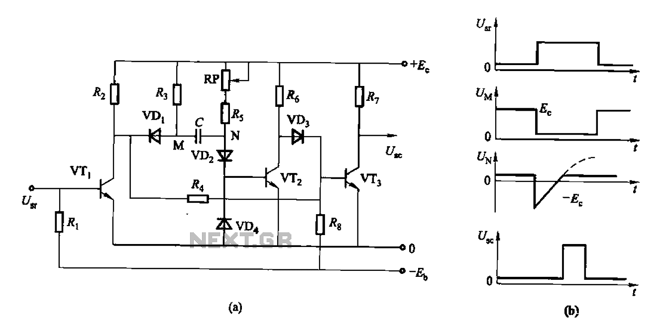 as control the discharge tube type delay circuit
