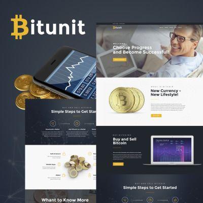 Bitunit Lite - Bitcoin Free WPML ready WordPress Template Resume