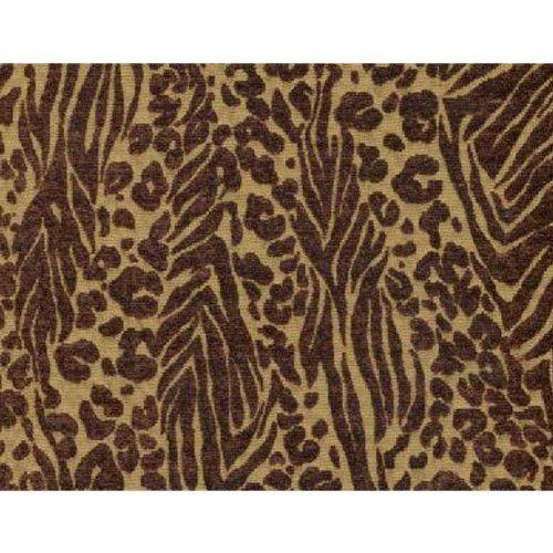 Wild Zebra Bronze Futon Cover Loveseat