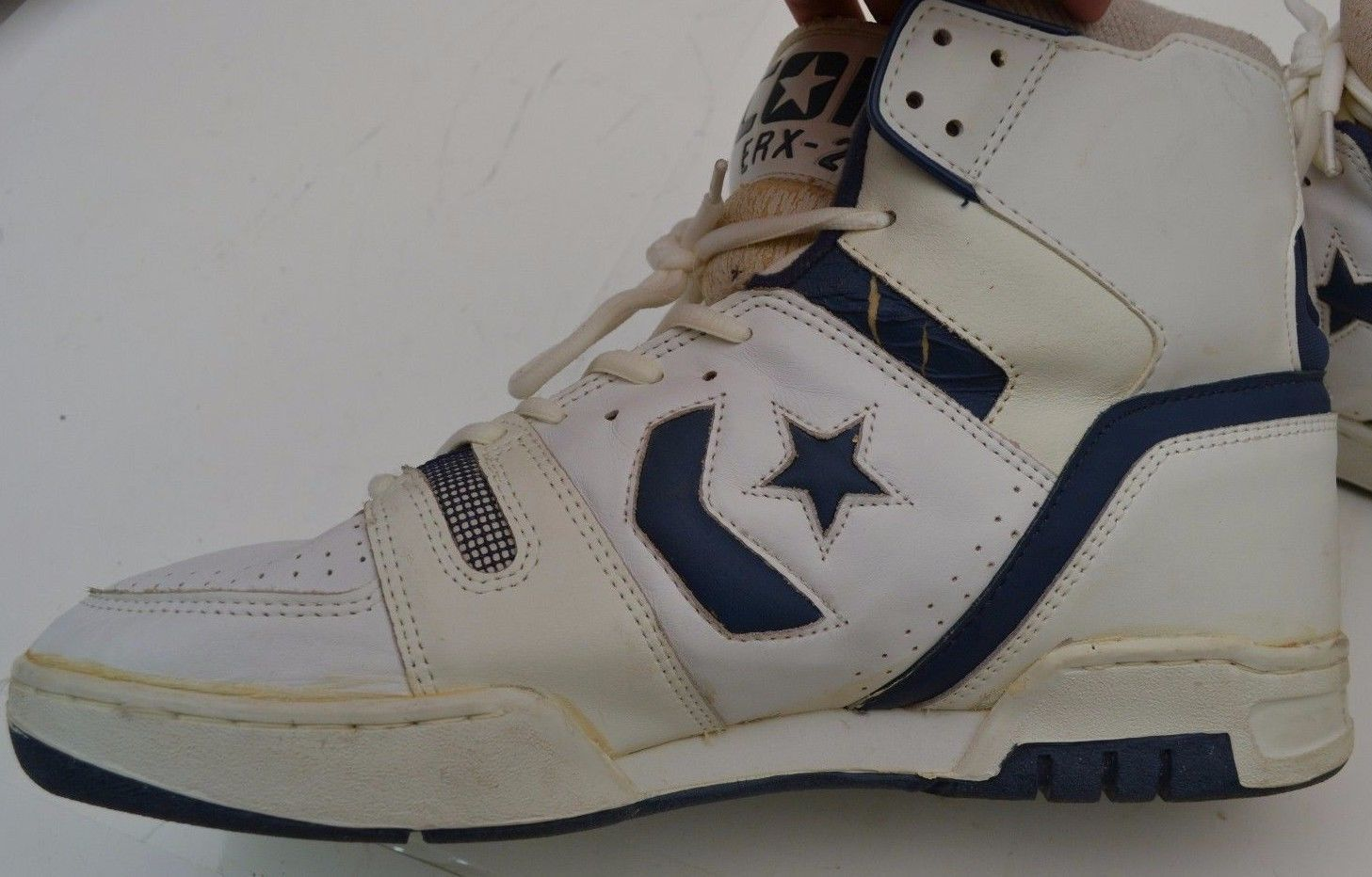 new arrival 5596c d4065 ... Deadstock NOS  Vintage Converse Cons ERX 200 Mens Size 13 5 US Hightops  Made in Korea Shoes NBA ...