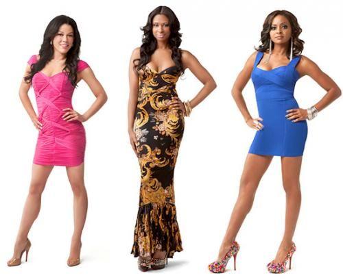 Jennifer Williams Royce Reed And Kesha Nichols Vibe Chris Brown Basketball Wives Celebs