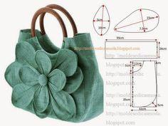 Plantillas de moda para la medida: CÓMO CORTAR LA BOLSA - 20