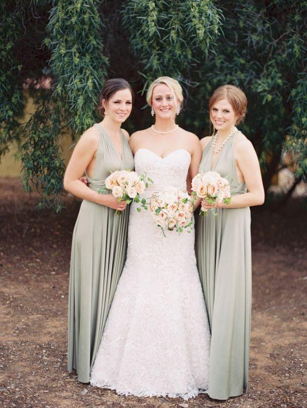 745862202f5 Silver Bridesmaids Dresses - Elizabeth Anne Designs  The Wedding Blog