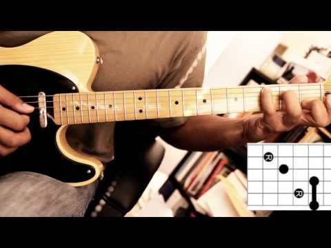 Soukous Guitar - Demo 2 - Chord Shapes and Position Playing ...