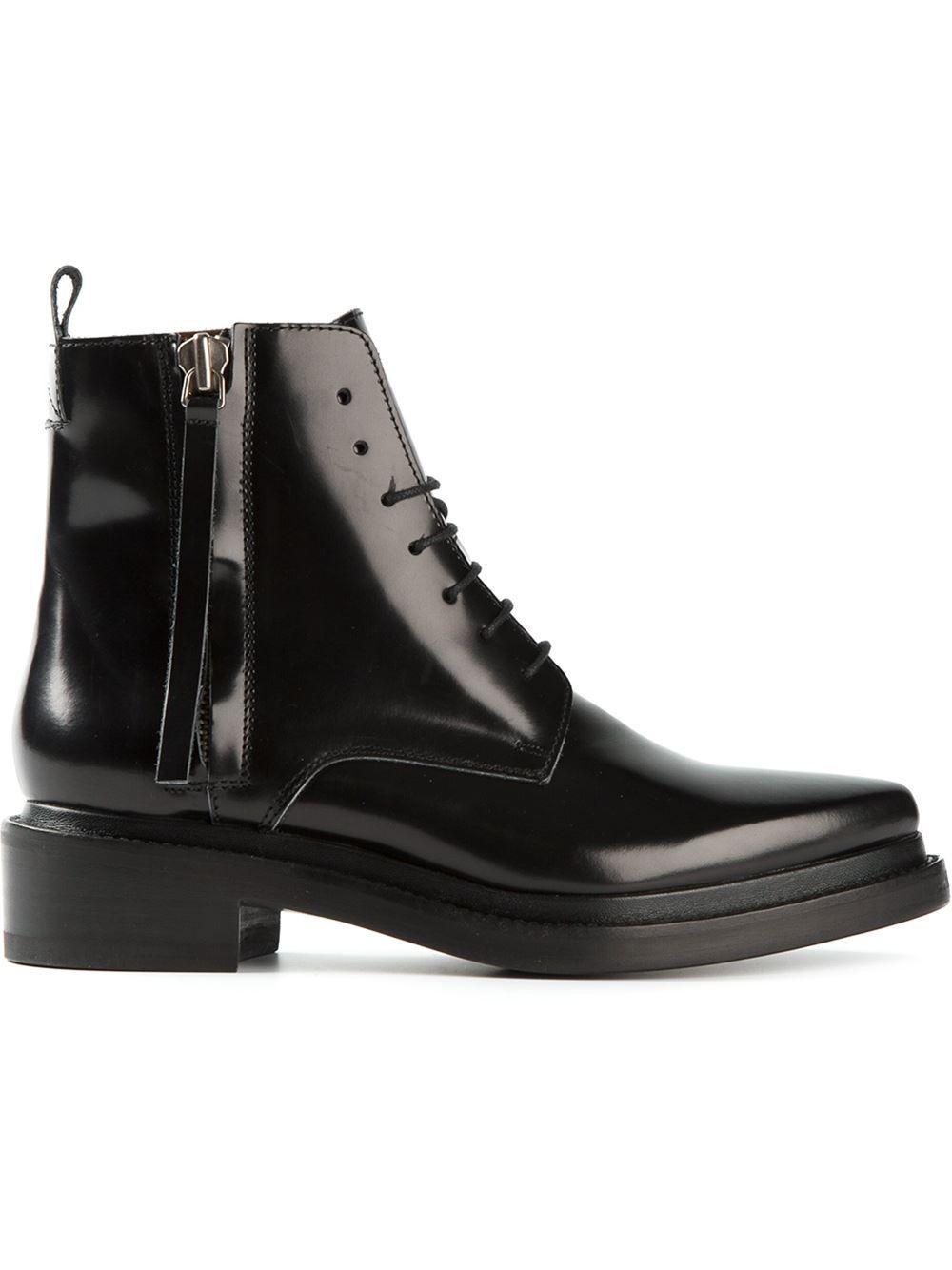 Acne Studios  linden  Ankle Boots - Fiacchini - Farfetch.com   Black ... ed3f0e205eb