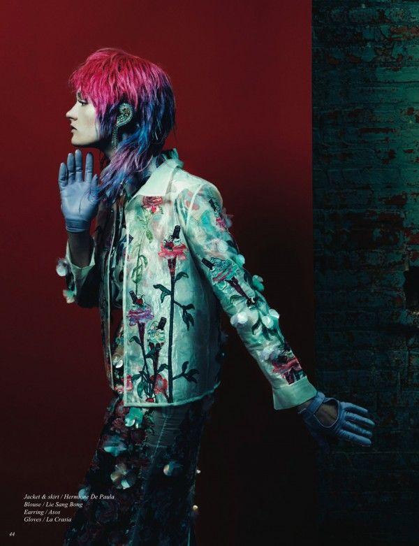 Yuki Takeuchi & Holly Suan Gray's 'Inside-Outside' for Schön! Magazine
