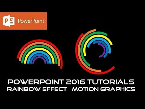 The Rainbow Animated Loaders and Spinners PowerPoint 2016 Motion - rainbow powerpoint