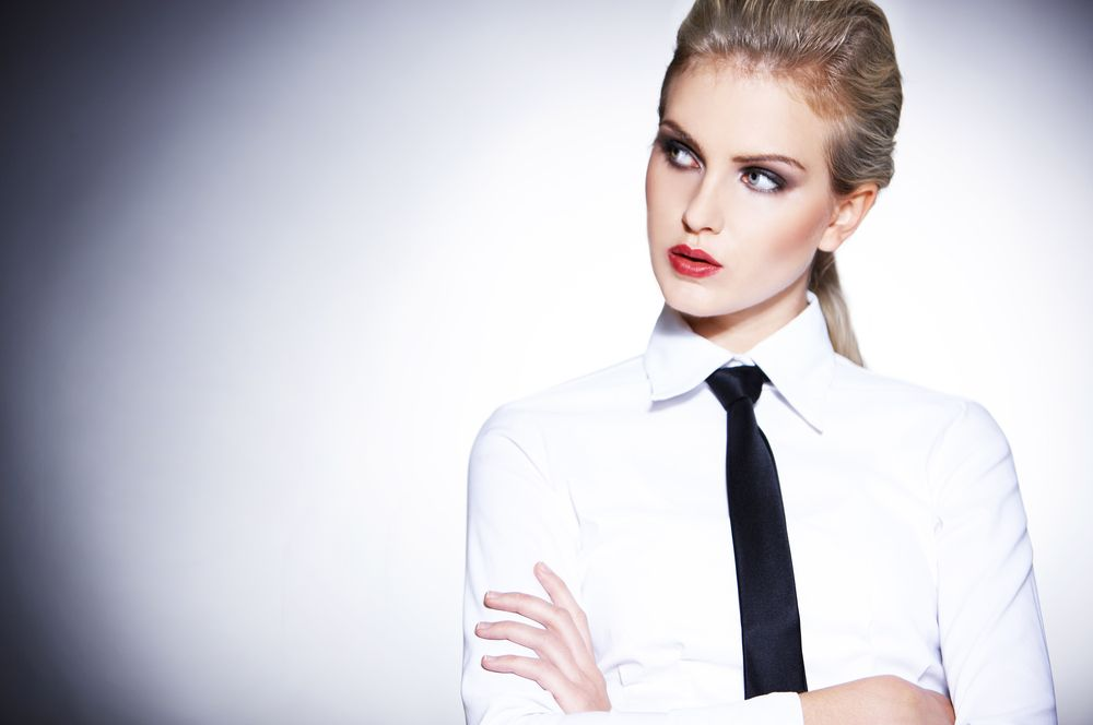 Shirts Image By Dress Work Professional Blouses Chemise