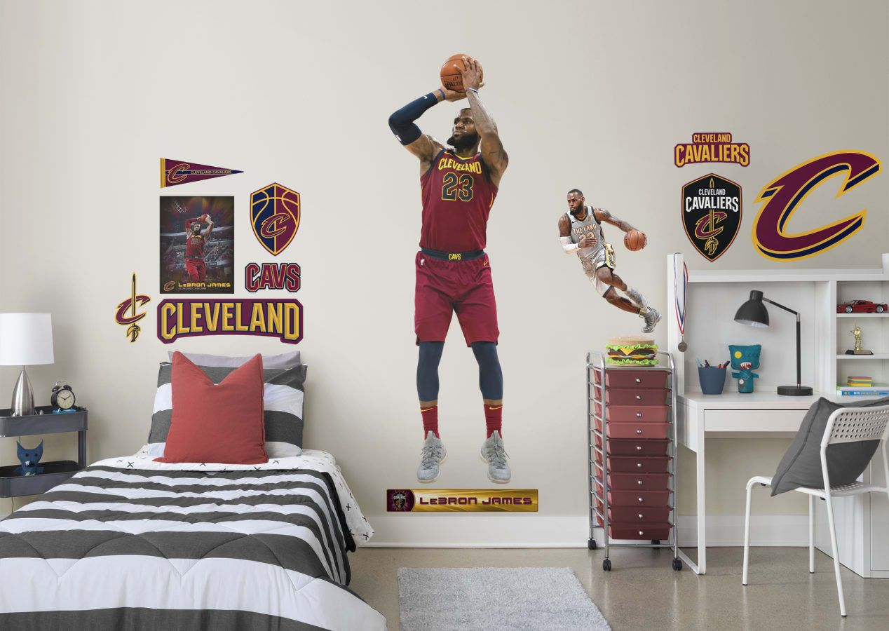 buy online 56510 8138e Basketball Bedroom. LeBron James of the Cleveland Cavaliers ...