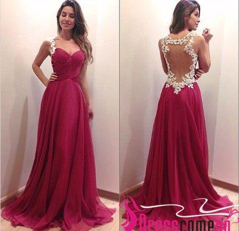 Unique Red Prom Dresses - Ocodea.com