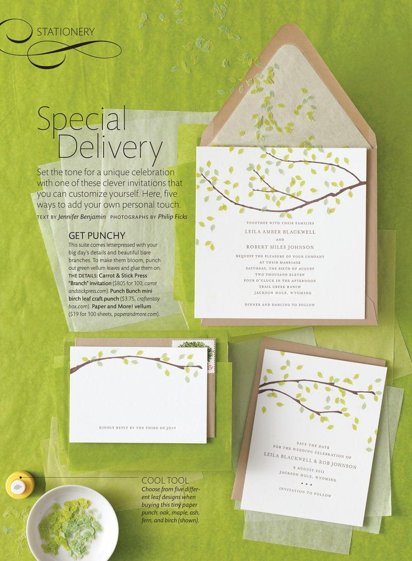 Diy Wedding Invitation Ideas From