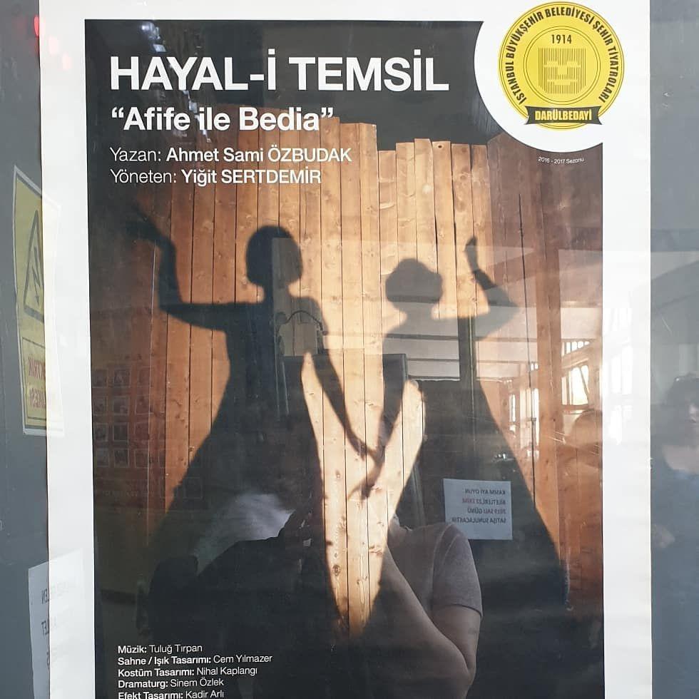 """, Şehir tiyatroları perdelerini açtı ve oyunlar başladı. Hayal-i Temsil kesinlikle tavsiye ediyorum. """"Müslüman Türk kadınının sahnede işi o…, Eşkiya Dünyaya Hükümdar Olmaz, Eşkiya Dünyaya Hükümdar Olmaz"""