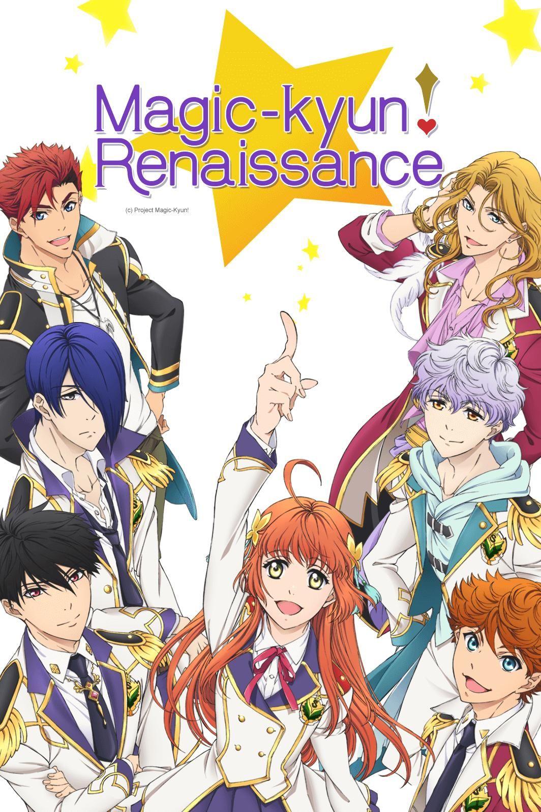 Jetzt Erstmal Die Erste Folge Von Magic Kyun Renaissance Geben