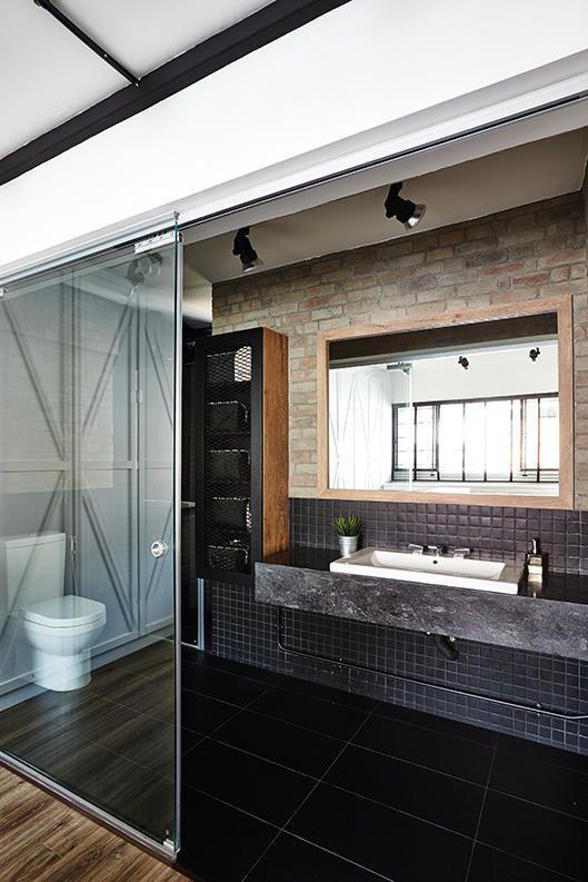 7 Simple But Modern Hdb Flat Bathroom Designs  Bathroom Designs Cool Hdb Bathroom Design Inspiration