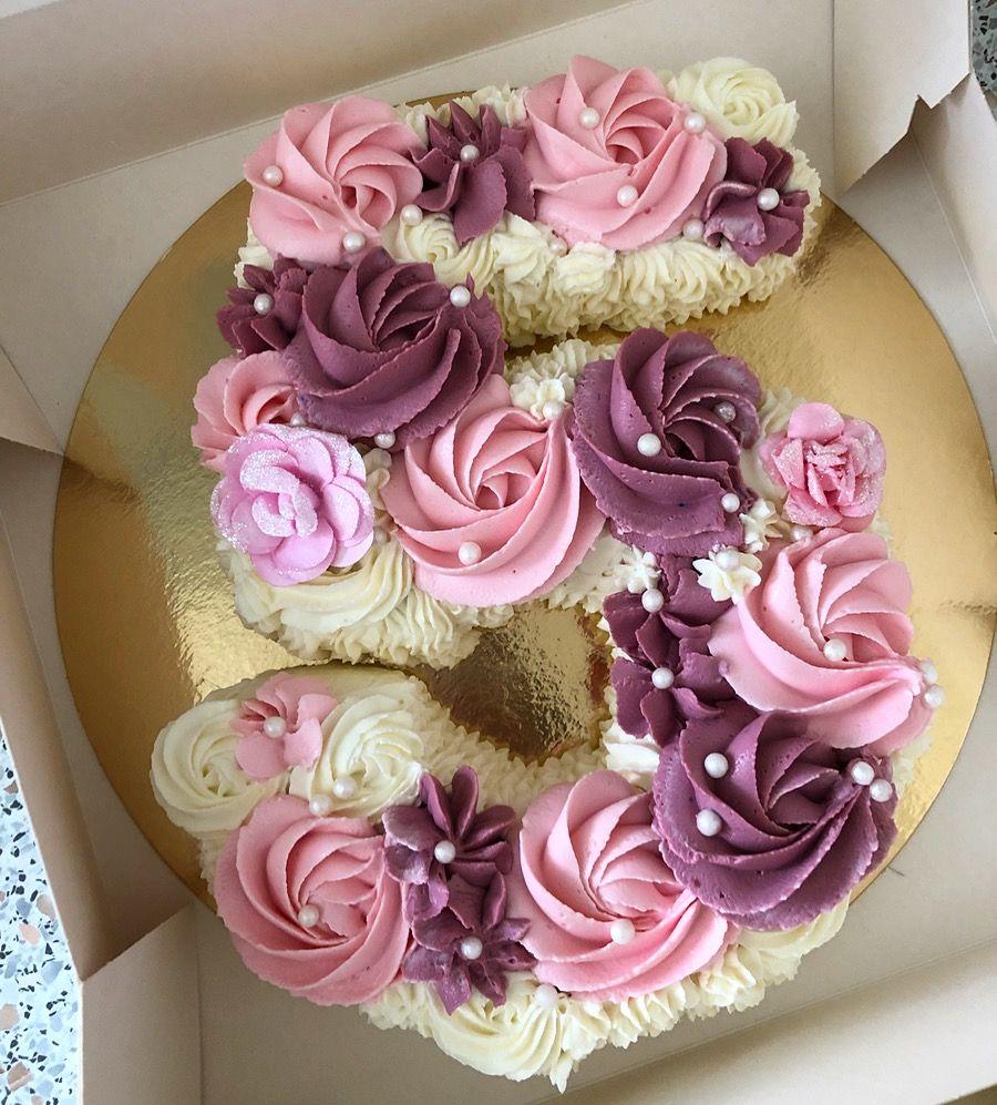 5th Birthday Number Cake Pull Apart Cupcake Cake Special Birthday Cakes Make Birthday Cake