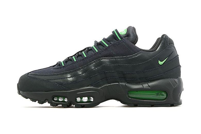 separation shoes 53417 9ead8 Nike Air Max 95 Anthracite Green JD Sports Exclusive