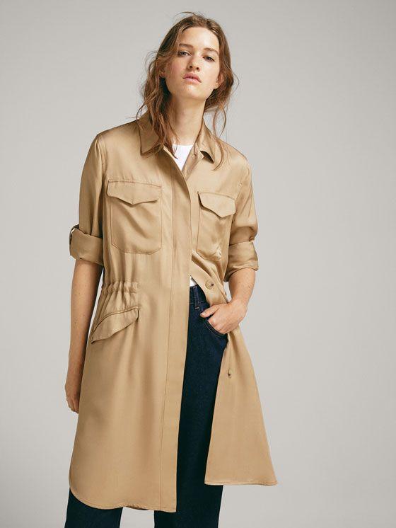 Dames jassen en jacks | Massimo Dutti Voorjaars en