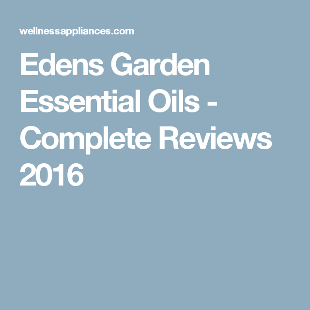 How to use essential oils for weight loss getting on - Edens garden essential oils reviews ...