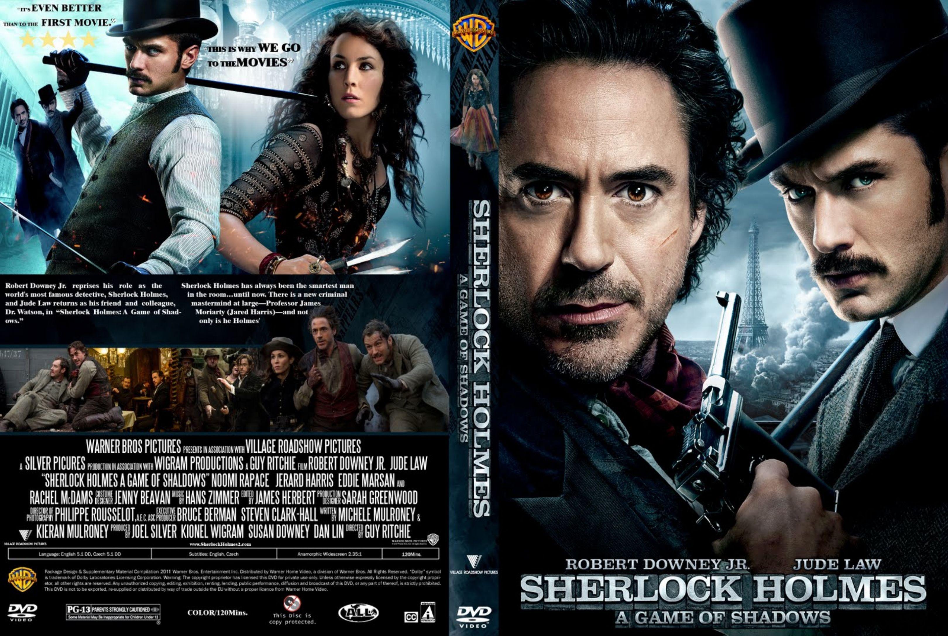COVERS.BOX.SK ::: Sherlock Holmes A Game Of Shadows (2011)   High …