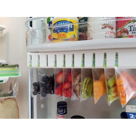 Zip n Store Fridge Door Easy Store Organizer - Walmart.com #kitchenpantryorganization