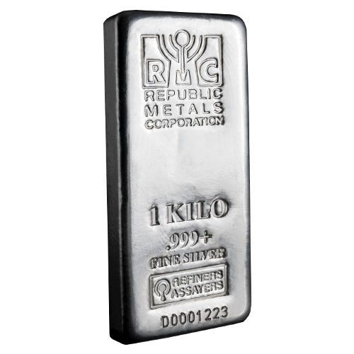 The 1 Kilo Rmc Silver Bar Contains 1000 Grams Of Investment Grade 999 From Internationally Known Republi Silver Bars Buy Gold And Silver Gold And Silver Coins