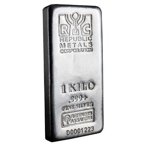 Buy 1 Kilo RMC Silver Bars Online (.999, New) - Silver.com