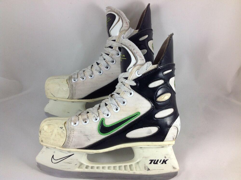 Advertisement(eBay) RARE! Nike ZOOM AIR white hockey skates