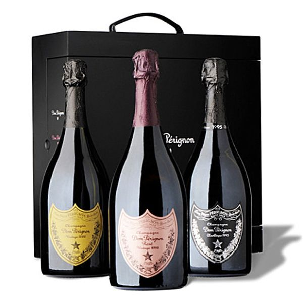 Dom Perignon Champagne gift set - as served by Nero Wolfe | Gift ...