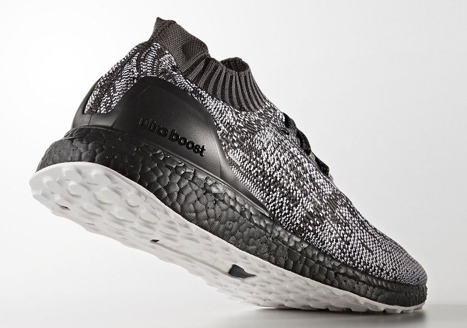 premium selection fffe5 20b8b  sneakers  news Black Boost And White Soles Combine On The adidas Ultra  Boost Uncaged