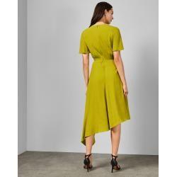 Photo of Asymmetrisches Kleid Mit D-ringdetail Ted Baker