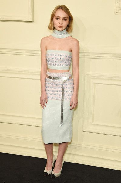 Lily-Rose Depp in CHANEL Spring 2015 Haute Couture - CHANEL Paris-Salzburg 2014/15 Metiers d'Art Collection - March 31, 2015