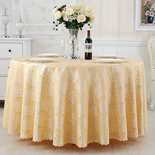 Tablecloths For Living Room Hotel Round Table Tablecloth Fabric Restaurant Continental Coffee Square
