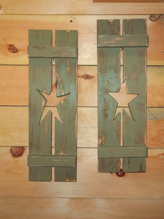 decorative window shutters wood decorative window shutter amber barbed wire and horse shoe no star