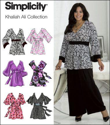 Simplicity 2634 | Plus Size Patterns | Pinterest | Kleidung ...