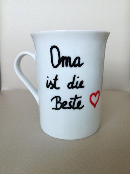 Becher Tassen Beste Oma Tasse Geschenk Fur Oma Geburtstag Danke