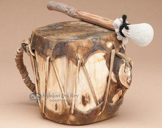 "Native Aspen Log Drum 5x4.5"""" (pd26)"